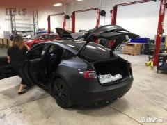 特斯拉最新车型Model 3原型车曝光 变化不大