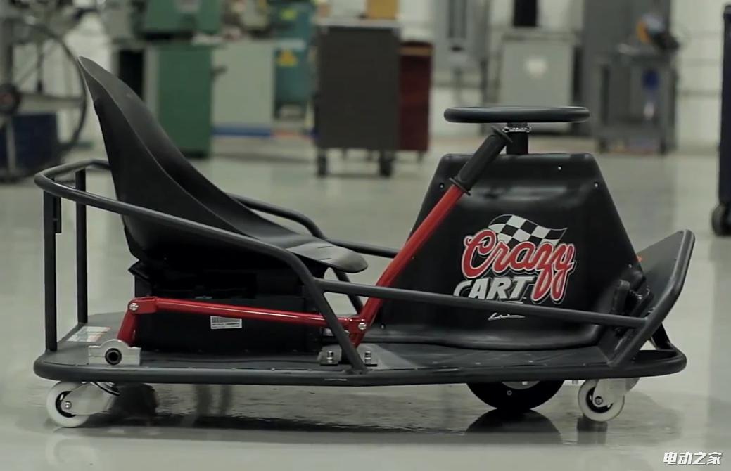 卡丁车中的漂移神器:电动漂移滑板车Crazy cart XL成人版