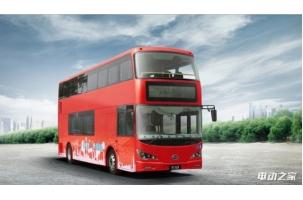 比亚迪纯电动公交车伦敦投运