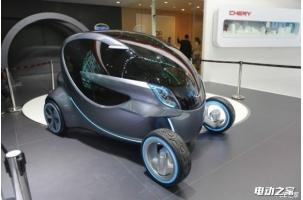 奇瑞EQ1小蚂蚁纯电动汽车曝光 造型可爱价格/售价亲民
