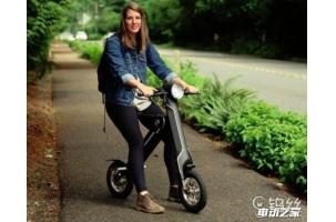 这款人字形折叠电动自行车很轻很贵 你买吗