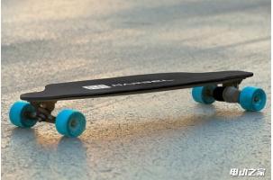 续航16公里 仅重4.5公斤的超轻电动滑板 Marbel Board
