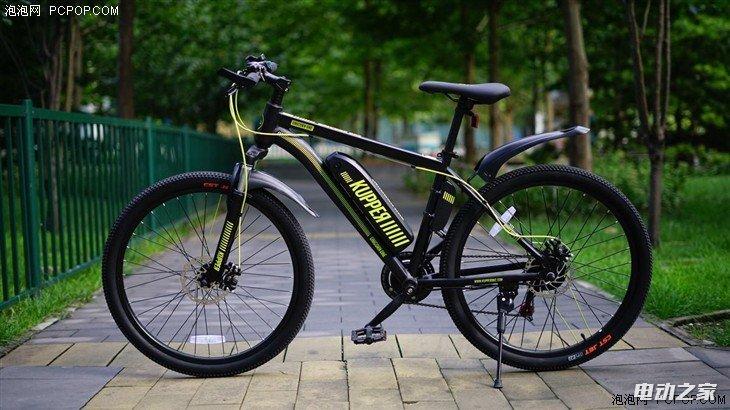 搭载轻客动力系统 昆铂独角兽电动助力自行车测试