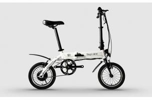 超便携电动自行车BeginONE 续航60公里三种工作模式