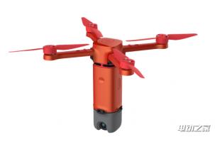 云童Airboy便携微型折叠无人机 只有矿泉水瓶大小