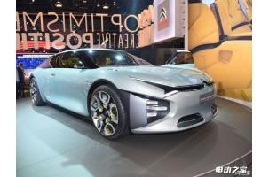 2016巴黎车展:雪铁龙CXPERIENCE混合动力车概念车亮相