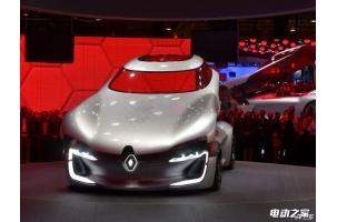 2016巴黎车展:雷诺TREZOR电动概念车发布