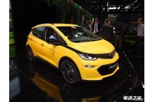2016巴黎车展:欧宝电动车Ampera-e正式发布