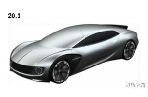 预见未来 大众多款纯电动概念车专利图