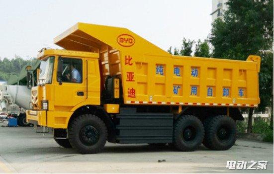 比亚迪董事长亲自试电动矿山车 耗资25亿无人抱怨