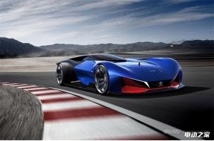 标致推出未来赛车L500 R Hybrid 搭载混动系统