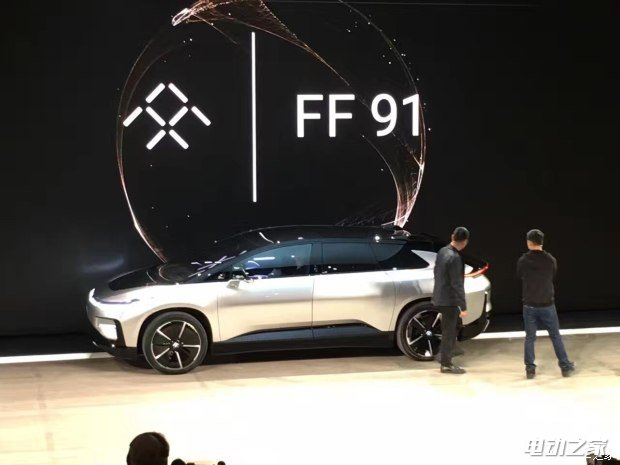 2017 CES:纯电动SUV Faraday Future FF 91首发