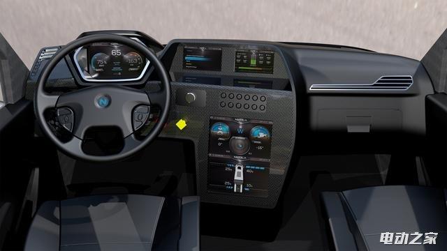 Nikola One,电动卡车,智能卡车
