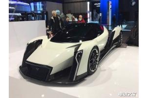 新加坡电动超跑品牌Dendrobium亮相车展 采用F1技术制造