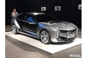 2.6秒破百 观致Model K-EV电动概念车亮相实拍图片