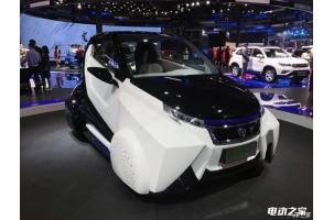 2016上海车展:长安机甲勇士电动概念车首发