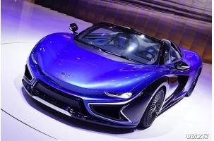 设计升级量产将近 前途K50电动跑车惊艳亮相2017上海展