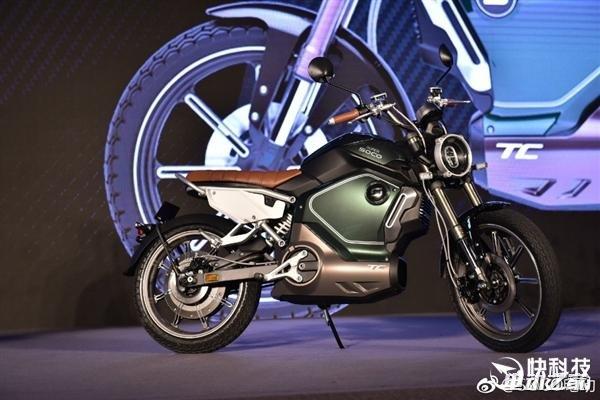 1500W电机/100km续航!国产新超级锂电摩托发布