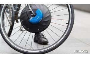 现在你只需更换一个前轮 就可拥有一辆高颜值电动自行车