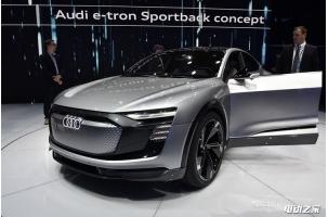 奥迪2019年将量产这款极具未来感的电动轿跑SUV