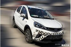 吉利远景X1纯电动版车型谍照 预计今秋上市