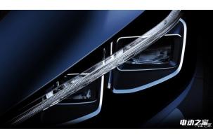 配LED大灯组 日产发布新聆风首张预告图