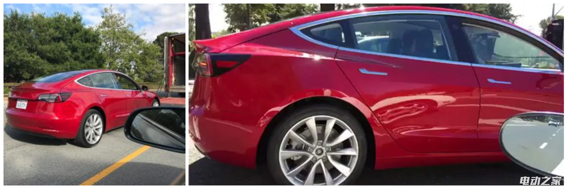 年轻人的第一台电动汽车——特斯拉Model 3配置信息大曝光