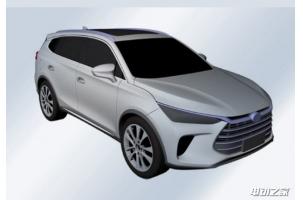 或为新一代唐 曝比亚迪全新混合动力SUV专利图