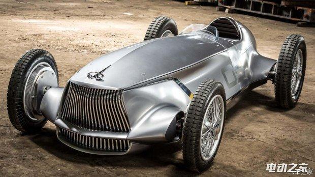 电动复古赛车 英菲尼迪Prototype 9官图