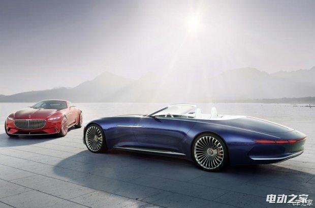 预见未来 迈巴赫 6电动敞篷概念跑车首发